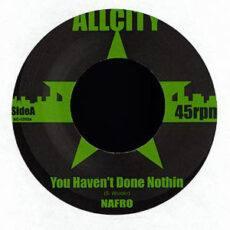 Nafro - You Haven't Done Nothing / Hassle Free LP - VINYL - CD