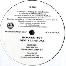 Route 401 - New Years Day LP - VINYL - CD
