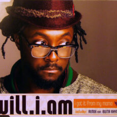 Will I Am - I Got It From My Mama LP - VINYL - CD