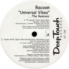 Racoon (5) - Universal Vibes (The Remixes) LP - VINYL - CD