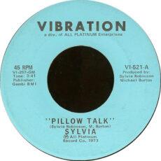 Sylvia* - Pillow Talk / My Thing LP - VINYL - CD