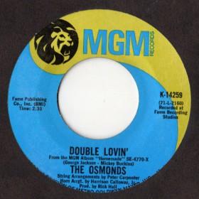 Osmonds, The - Double Lovin' LP - VINYL - CD