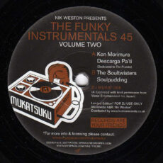 Nik Weston - The Funky Instrumentals 45 (Volume Two) LP - VINYL - CD