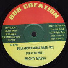 Mighty Massa - Build A Better World LP - VINYL - CD