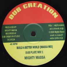 Mighty Massa - Build A Better World LP - VINYL - CD