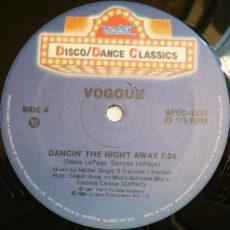 Voggue - Dancin' The Night Away / Love Buzz LP - VINYL - CD