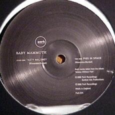 Baby Mammoth - Tasty Maloney / Pigs In Space LP - VINYL - CD