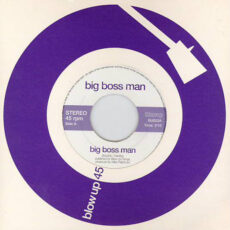 Big Boss Man - Big Boss Man / Big Boss Man (Version) LP - VINYL - CD