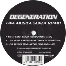 Degeneration - Una Musica Senza Ritmo LP - VINYL - CD