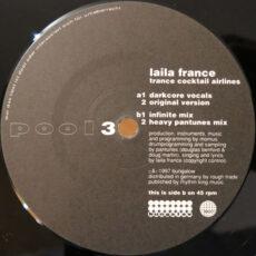 Laila France - Trance Cocktail Airlines LP - VINYL - CD