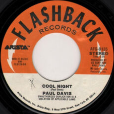 Paul Davis (3) - Cool Night / '65 Love Affair LP - VINYL - CD