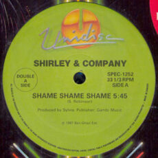 Shirley & Company / Brother To Brother / Donnie Elbert - Shame Shame Shame / In The Bottle / Where Did Our Love Go LP - VINYL - CD