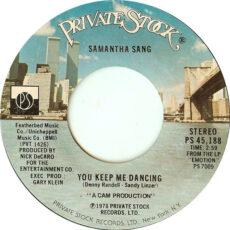 Samantha Sang - You Keep Me Dancing LP - VINYL - CD