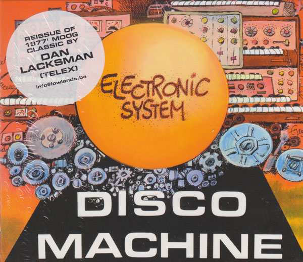 Electronic System - Disco Machine LP - VINYL - CD