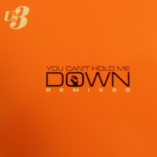 Us3 - You Can't Hold Me Down Remixes LP - VINYL - CD