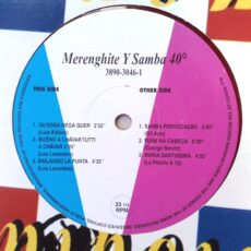 Various - Merenghite Y Samba 40* LP - VINYL - CD