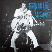 Elvis Presley - Songs & Statements LP - VINYL - CD