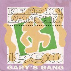 Gary's Gang - Keep On Dancin' 1990 LP - VINYL - CD