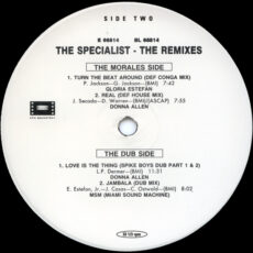 Various - The Specialist: The Remixes LP - VINYL - CD