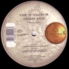 X Factor, The - Desert Rain LP - VINYL - CD