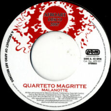 Quarteto Magritte - Malanotte LP - VINYL - CD